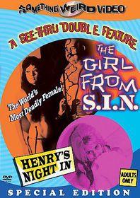 Girl from Sin/Henry's Night in - (Region 1 Import DVD)