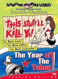 This Stuff'll Kill Ya/Year of Yahoo - (Region 1 Import DVD)