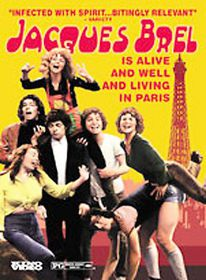 Jacques Brel is Alive and Well and Living in Paris - (Region 1 Import DVD)