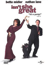 Isn't She Great - (Region 1 Import DVD)