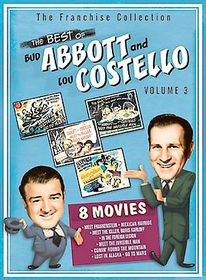 Best of Bud Abbott and Lou Costello Vol 3 - (Region 1 Import DVD)
