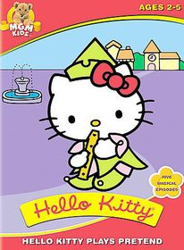 Hello Kitty Plays Pretend - (Region 1 Import DVD)