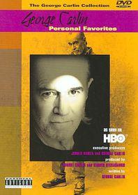 George Carlin Personal Favorites - (Region 1 Import DVD)