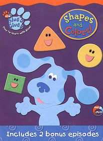 Blue's Clues:Shapes and Colors - (Region 1 Import DVD)