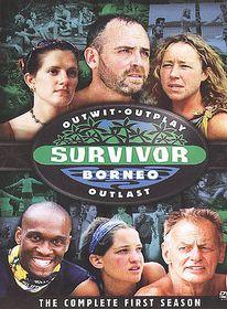 Survivor:Complete Borneo First Season - (Region 1 Import DVD)
