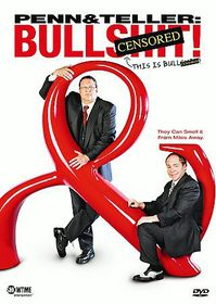 Penn & Teller:Bullsh*t  Censored - (Region 1 Import DVD)
