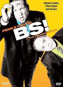 Penn & Teller Season 2 Bullsh*t - (Region 1 Import DVD)