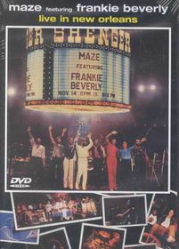 Live in New Orleans (Maze) - (Region 1 Import DVD)