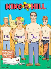 King of the Hill Season 3 - (Region 1 Import DVD)