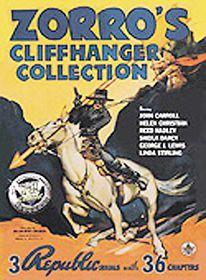 Zorro's Cliffhanger Collection - (Region 1 Import DVD)