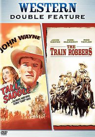 Train Robbers/Tall in the Saddle - (Region 1 Import DVD)
