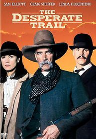 Desperate Trail - (Region 1 Import DVD)