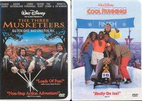 Cool Runnings/Three Musketeers - (Region 1 Import DVD)
