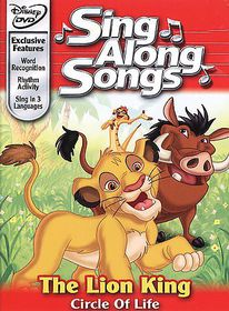 Sing Along Songs:Lion King Circle - (Region 1 Import DVD)