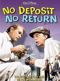 No Deposit No Return - (Region 1 Import DVD)