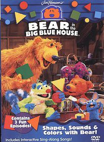 Bear in the Big Blue House - Shapes, Sounds and Colors with Bear - (Region 1 Import DVD)