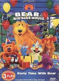 Bear in the Big Blue House - Party Time With Bear - (Region 1 Import DVD)