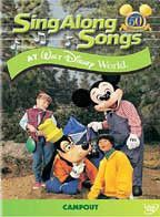 Sing-Along Songs - Campout At Walt Disney World - (Region 1 Import DVD)