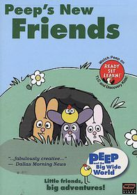 Peep's New Friends - (Region 1 Import DVD)