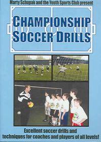 Championship Soccer Drills - (Region 1 Import DVD)