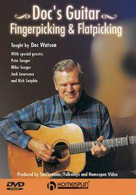 Doc's Guitar Fingerpicking & Flatpicking - (Region 1 Import DVD)