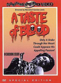 Taste of Blood - (Region 1 Import DVD)