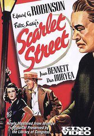 Scarlet Street - (Region 1 Import DVD)