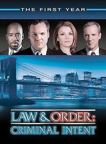 Law & Order:Criminal Intent Season 1 - (Region 1 Import DVD)