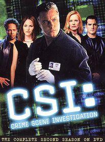 Csi:Complete Second Season - (Region 1 Import DVD)