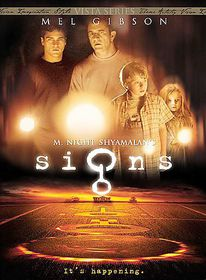Signs/Sixth Sense/Unbreakable - (Region 1 Import DVD)
