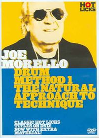 Joe Morello - Drum Method 1: The Natural Approach to Technique - (Region 1 Import DVD)