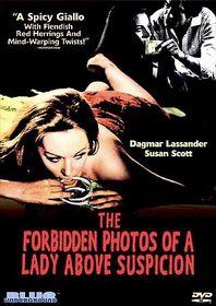 Forbidden Photos Of A Lady Above Suspicion - (Region 1 Import DVD)
