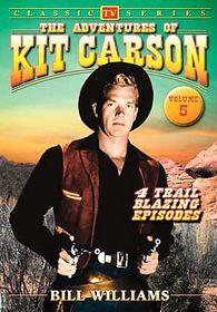 Adventures of Kit Carson Vol 5 - (Region 1 Import DVD)