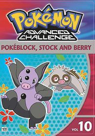 Pokemon Advanced Challenge Vol 10 - (Region 1 Import DVD)