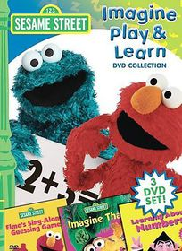 Sesame Street:Imagine Play and Learn - (Region 1 Import DVD)