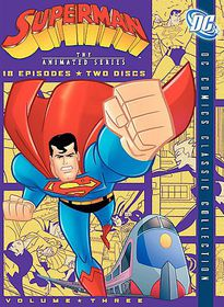 Superman:Animated Series Vol 3 - (Region 1 Import DVD)
