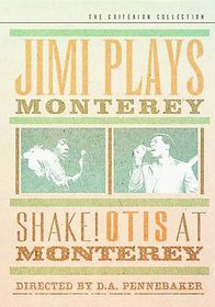 Jimi Plays Monterey/Shake! Otis at Monterey - (Region 1 Import DVD)