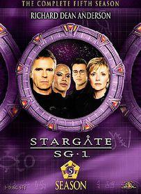 Stargate Sg 1:Season 5 - (Region 1 Import DVD)