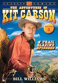 Adventrues of Kit Carson Vol 9 - (Region 1 Import DVD)