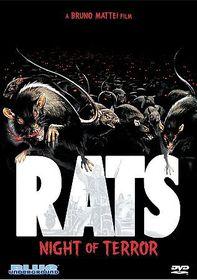 Rats:Night of Terror - (Region 1 Import DVD)