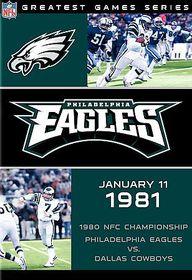 NFL Greatest Games Philadelphia Eagles 1980 Championship Game - (Region 1 Import DVD)