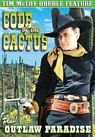 Tim Mccoy Double Feature:Code of the - (Region 1 Import DVD)