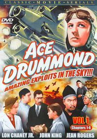 Ace Drummond Vol. 1 & 2 (Complete Serial) - (Region 1 Import DVD)
