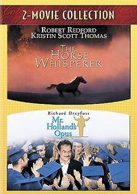 Horse Whisperer/Mr. Holland's Opus - (Region 1 Import DVD)