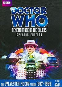 Doctor Who Remembrance of the Daleks - (Region 1 Import DVD)