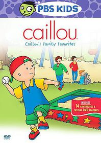 Caillou's Family Favorites - (Region 1 Import DVD)