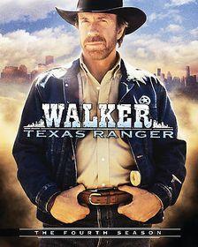 Walker Texas Ranger:Fourth Season - (Region 1 Import DVD)
