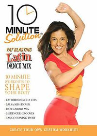 10 Minute Solution:Latin Dance Mix - (Region 1 Import DVD)