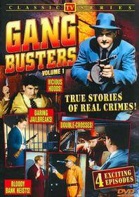 Gang Busters Vol 1-3 - (Region 1 Import DVD)