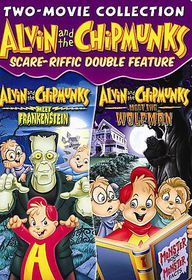 Alvin and the Chipmunks Scare Riffic - (Region 1 Import DVD)